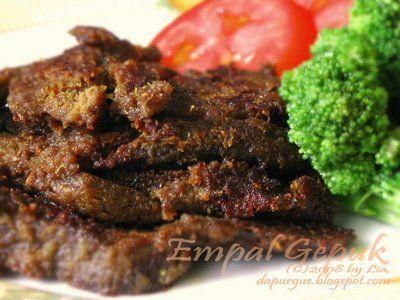 Empal Gepuk. #makanan #Indonesia