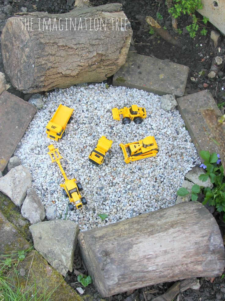 construction site gravel pit baby garden ideasgarden ideas for small spaces kids - Small Garden Ideas Kids
