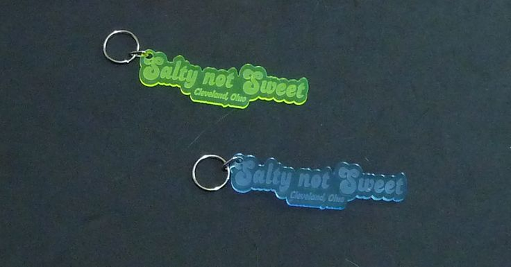 Personalized Acrylic #business #KeyChains by Unique LED Products