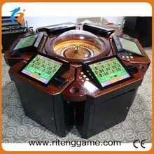 17 pulgadas táctil Pantalla LCD mesa de ruleta de casino máquina mini ruleta electrónica