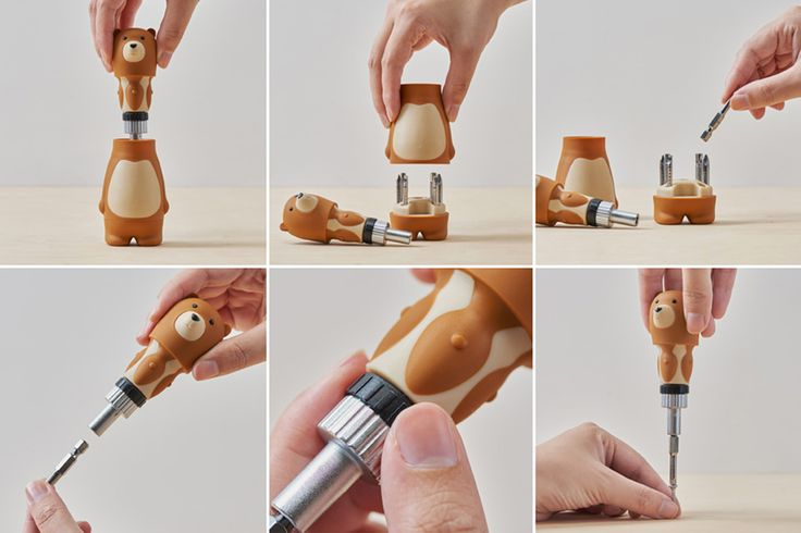 Unbearably Cute Tools | Yanko Design