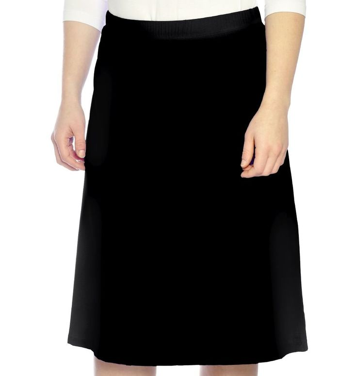 Women's Modest Running & Sports Skirt Medium Black. Soft & stretchy fabric used for swimsuits. NO LEGGINGS. 88% Polyamide/12% Spandex - Regular fit. Light stretchy polyamide fabric made in Italy for the ultimate running, sports or walking skirt. UV protection (UPF 50+ rating), moisture wicking and quick drying. SEE SIZE CHART IN IMAGES FOR BEST FIT! Kosher Casual women's general sizing guide: Size XS (2), Size S (4-6), Size M (8), Size L (10-12), Size XL (14), Size 2XL (16) Size 3XL (18)....