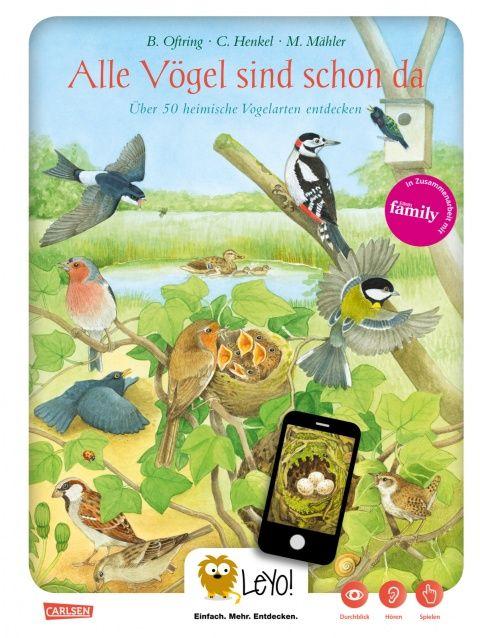 Alle Vögel sind schon da! #Buch #App #lesen