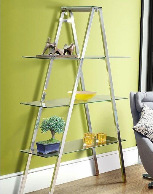 Glass Display Shelves Modern Furniture Contemporary Book