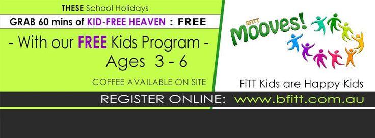 School holiday program at BFitt