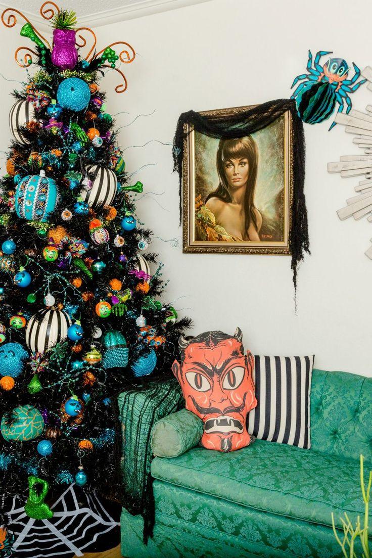 529 best Halloween images on Pinterest Carnivals, Halloween ideas - halloween tree decoration