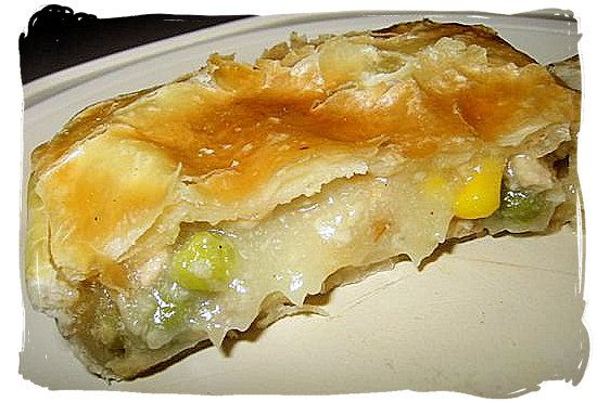 Chicken Pie - South African food adventure, South Africa food