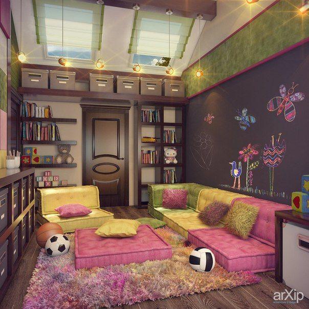 Детская игровая комната у вас дома | Беседы домохозяек | ВКонтакте