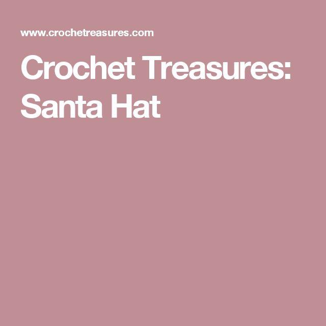 Crochet Treasures: Santa Hat