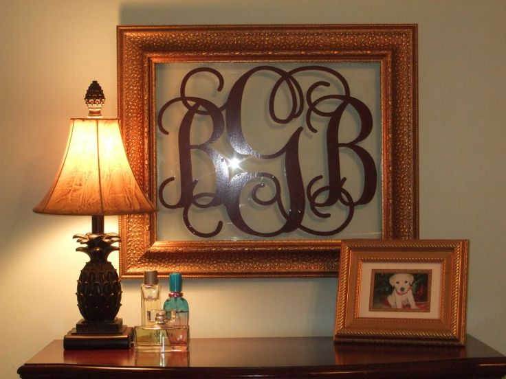 Monogram Wall Art, Hilliary will love this