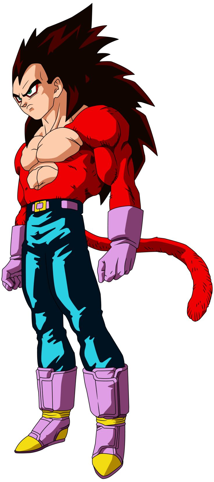 Vegeta ssj 4 by on deviantart - Goku vs vegeta super saiyan 5 ...