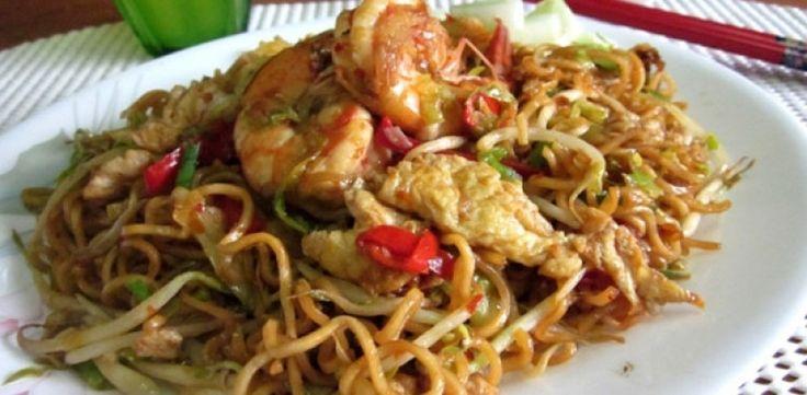 Resep Mie Goreng Jawa Super Pedas  resep cara membuat mie goreng jawa spesial