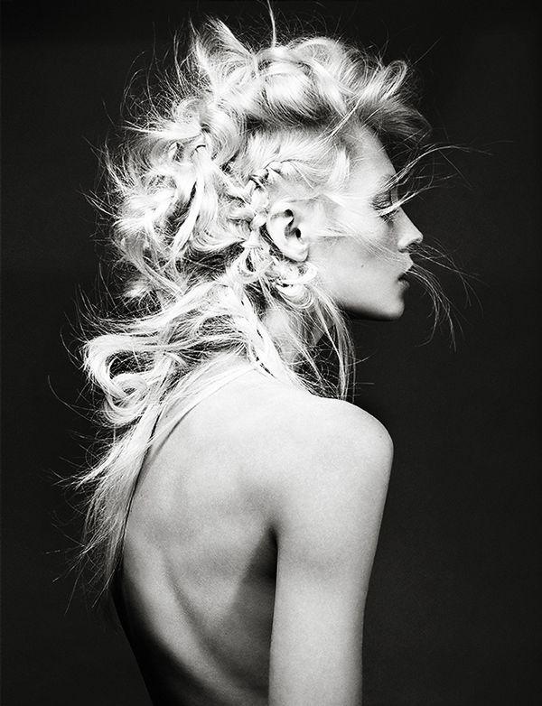Fancy Braids on Behance #style #fashion