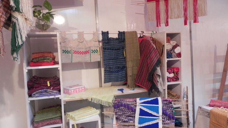 Preparando el stand de #Biguá para la Feria Navideña Diseña Santa Fe