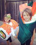 Yum Yum Sushi Kids Homemade Costume - 2014 Halloween Costume Contest