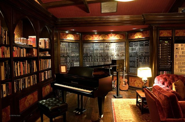 Hans Zimmer's Studio by Peter Gorges, via Flickr