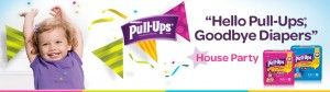 """Host a Pull-Ups """"Hello Pull-Ups, Goodbye Diapers"""" House Party"""