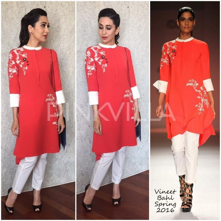 Yay or Nay : Karisma Kapoor in Vineet Bahl | PINKVILLA