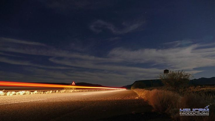 Lovely Night time Road shot