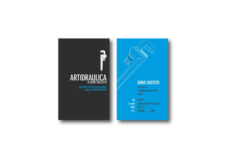 Businness Card #Artidraulica