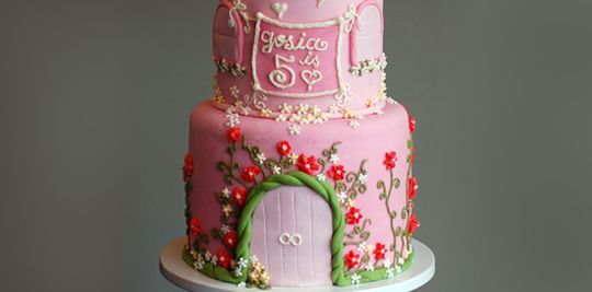 Mooiste taarten: Prinsessen kasteel taart