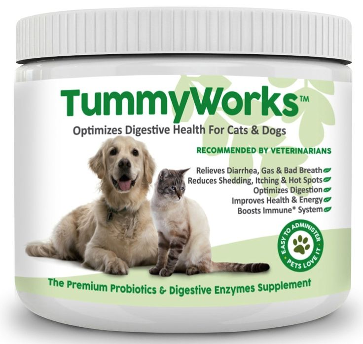 Probiotics for Dogs and Cats. Best Powder To Relieve Diarrhea, Yeast Infections, Itching, Skin Allergies and Bad Breath. Boosts Immunity. Added Digestive Enzymes Improve Digestion. Made in USA 160 Scoops -- Click on the image for additional details.