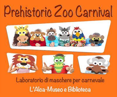 Creare maschere originali? #sipuòfare: Prehistoric Zoo Carnival al Museo Civico di Maglie