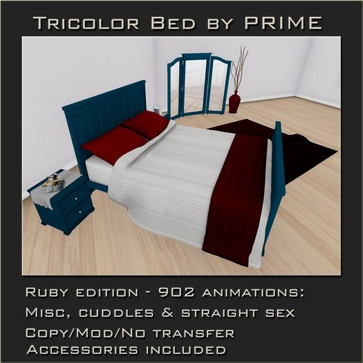 Tricolor Bedroom Ruby by PRIME