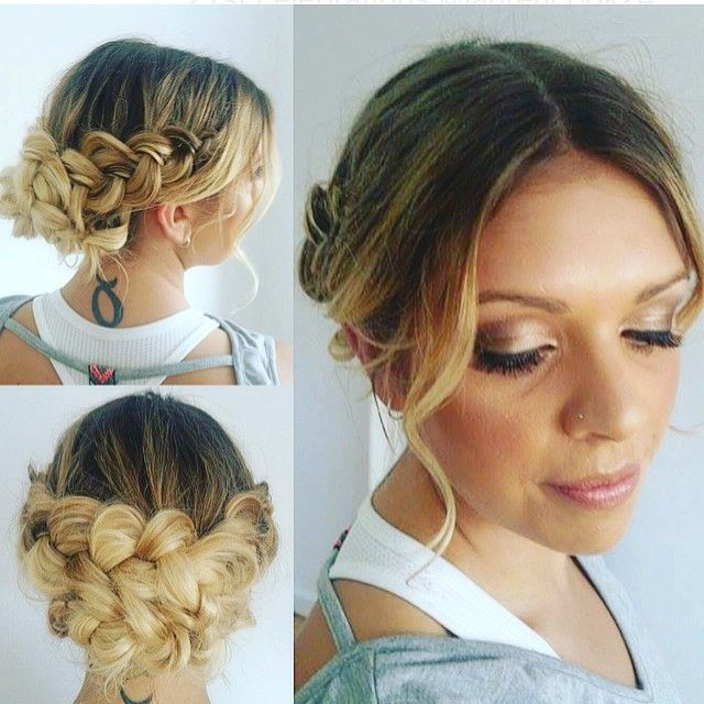 """""""Check out the blushbar braid menu to add to your do! #hairbygez #makeupbyshannon #hair #hairdo #braid #braidstyles #hairstylists #makeupbar #makeupartist"""" Photo taken by @blush_bar on Instagram, pinned via the InstaPin iOS App! http://www.instapinapp.com (11/09/2015)"""