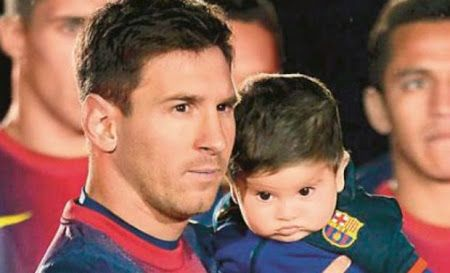 "Lionel Messi Blog: Lionel Messi's Son ""Thiago Messi"" - Photo Collection"