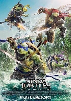Teenage Mutant Ninja Turtles Out of the Shadows 2016 300MB Dual Audio 480p BRRip