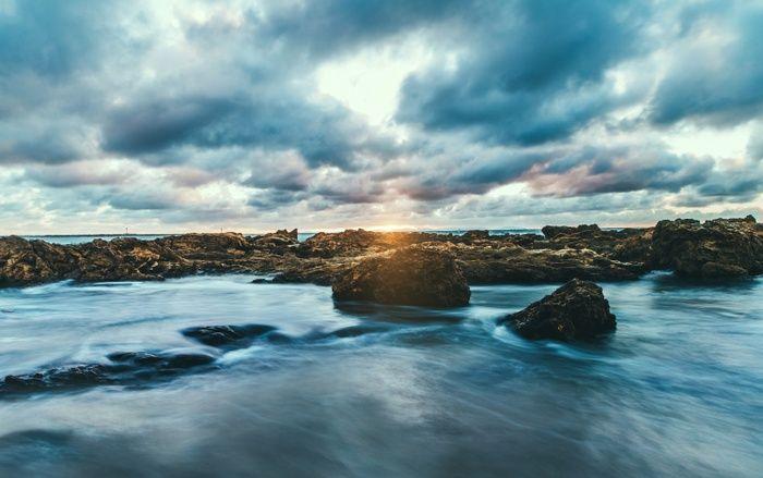 Ocean Rocks Art Print by Gallery One   Society6