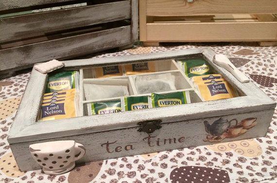 Scatola da Tè personalizzata con miniature / di RFAngoloSogni