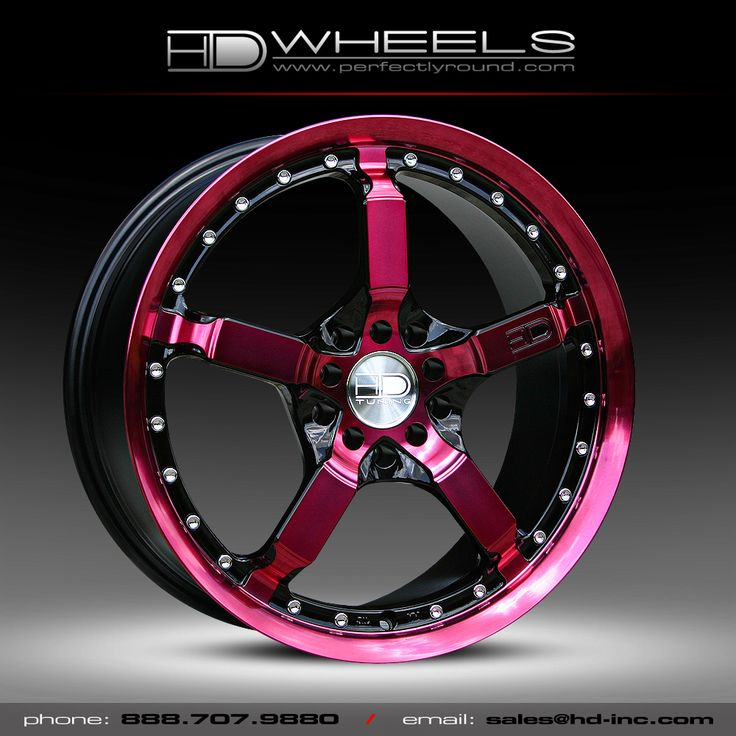 pink and black truck | HD Wheels Cool Down in HDC Pink