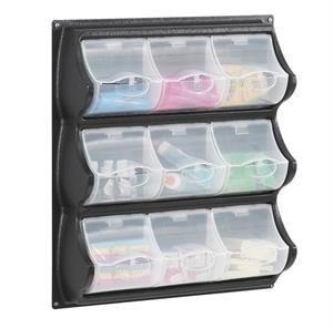 Safco Products Company Polypropylene Panel Storage with 9 Bins  sc 1 st  Pinterest & 94 best Medical Storage images on Pinterest
