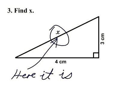 This was totally me in Math classes! Never seemed to get it! Haha!