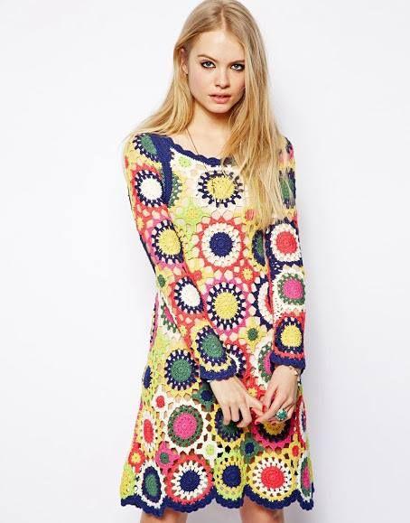 #tunica #tejida a #crochet #crochettunic