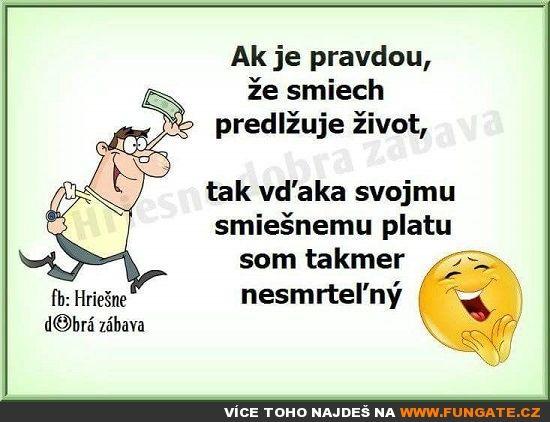 Jestli je pravda, že smích…
