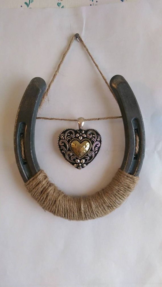 Check out this item in my Etsy shop https://www.etsy.com/listing/204143151/western-heart-horseshoe-wall-decor