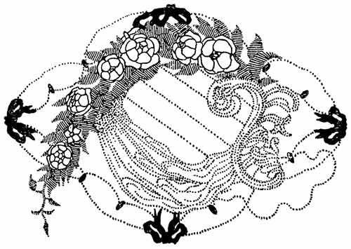 Заставка для журнала Золотое Руно» по эскизу Н.П.Феофилактова. 1907