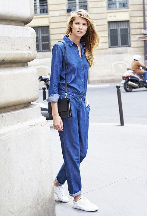 1000 id es propos de salopettes sur pinterest salopette en jean tenues confortables et. Black Bedroom Furniture Sets. Home Design Ideas
