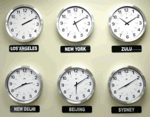 This Analog Time Zone display can have from two to 14 differenct analog clocks in it. Each zone follows the DST rulles for that country or region, including thirty minute offsets. Time Zone Clock, Analog Time Zone, World Clocks, World Clock.