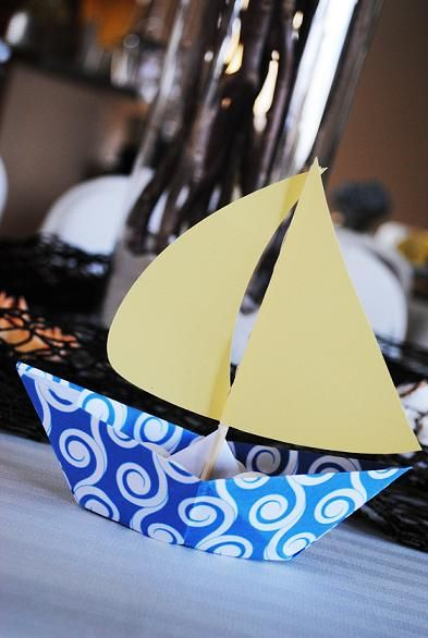 boys baby showers done in ocean and nautical | Nautical Baby Shower – Ocean, Sea, Sailboat Party