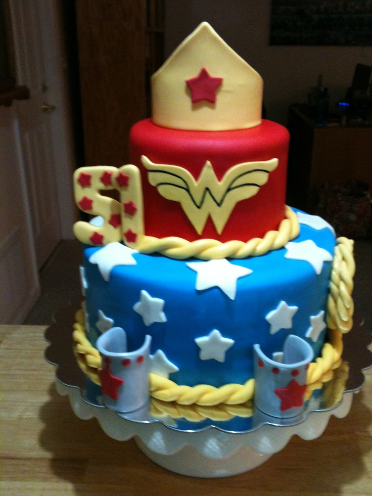 60 Best Wonder Woman Party Images On Pinterest