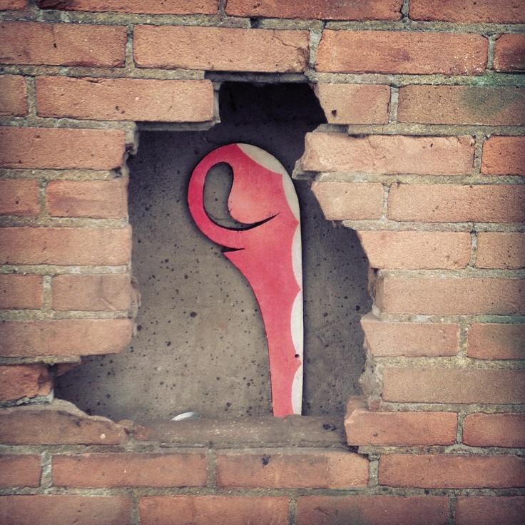 #4 Between the bricks