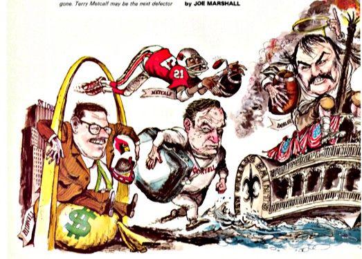 Bill Bidwell's Football Cardinals  1977: Don Coryell, Terry Metcalf,  and Conrad Dobler,
