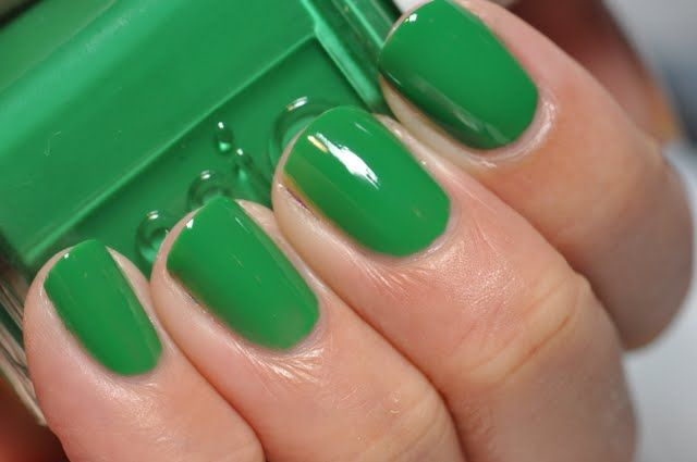 Essie Pretty Edgy... this is my dream shade of green!