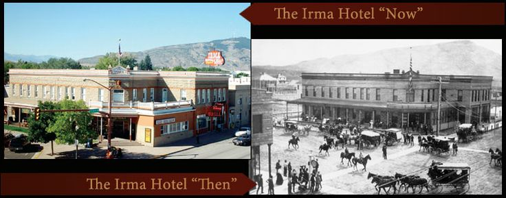 Irma Hotel - staged gunfight outside every night