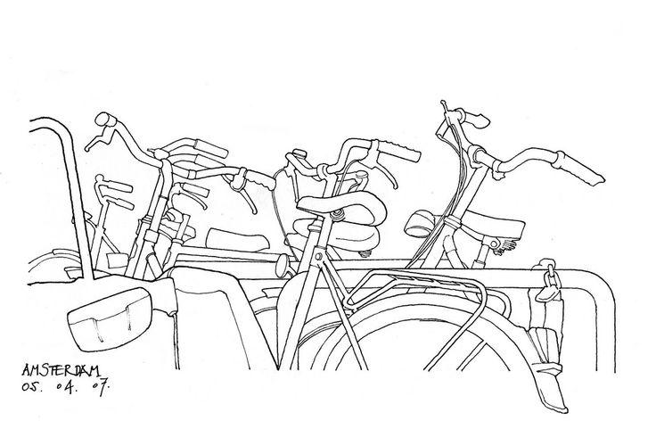 Amsterdam, vélos  | par gerard michel