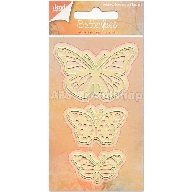 Joy crafts die 6002-6204 butterflies